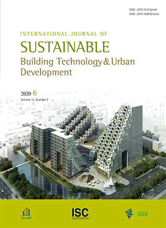 International Journal of Sustainable Building Technology and Urban Development